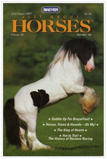 The Breyer magazine in 2001.